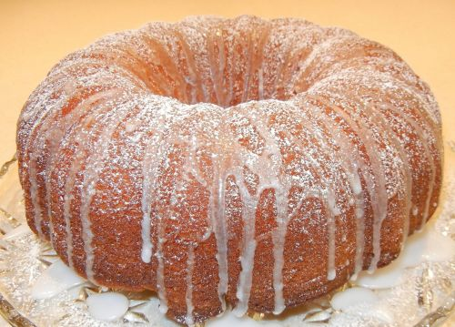 citrus cake cake confectioner sugar