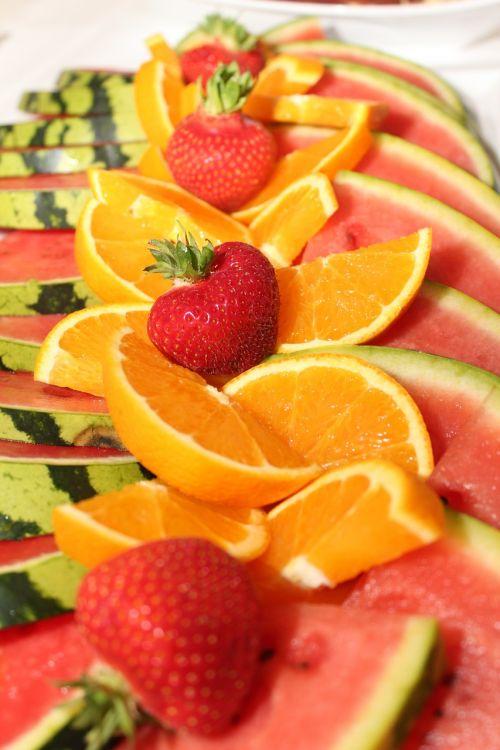 citrus fruits watermelon orange