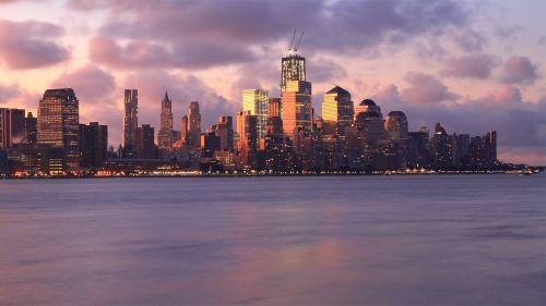 city skyline bay