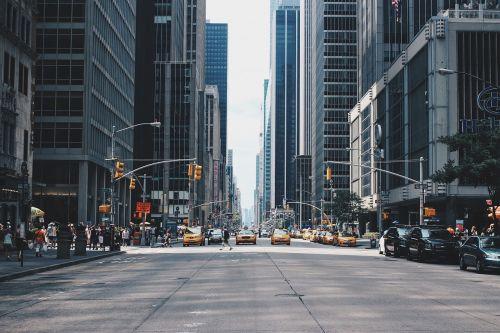 city street urban