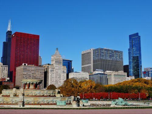 city cityscape downtown