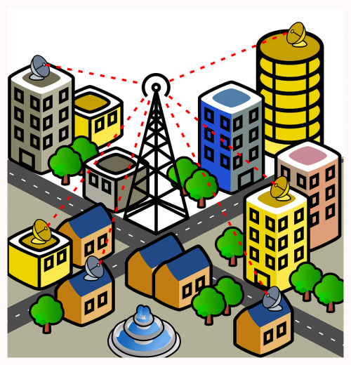 city wireless connection