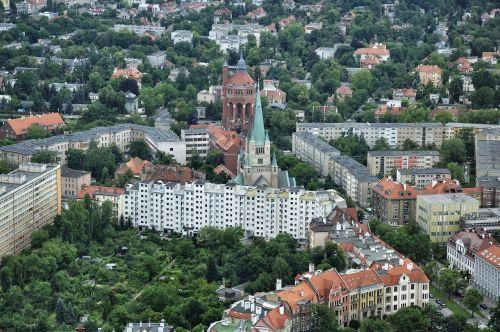 city view wrocław