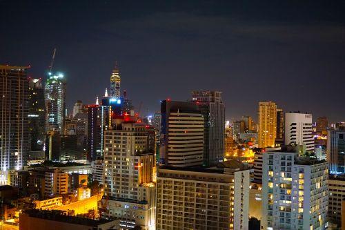 city night bangkok