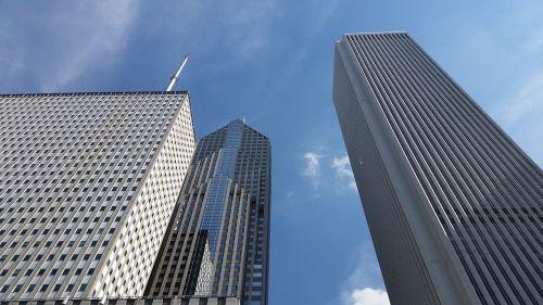 city urban buildings