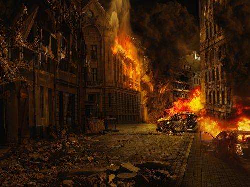 city war destroyed