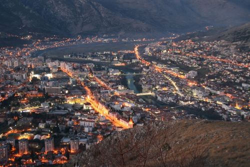 city night cityscape