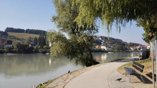 city river summer