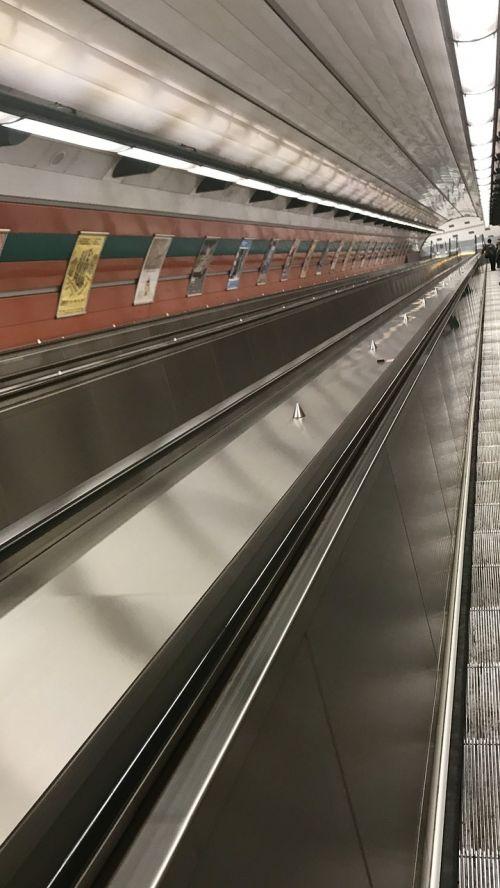 city elevator metro