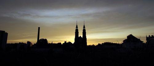 city panorama opole