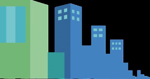 city buildings victor