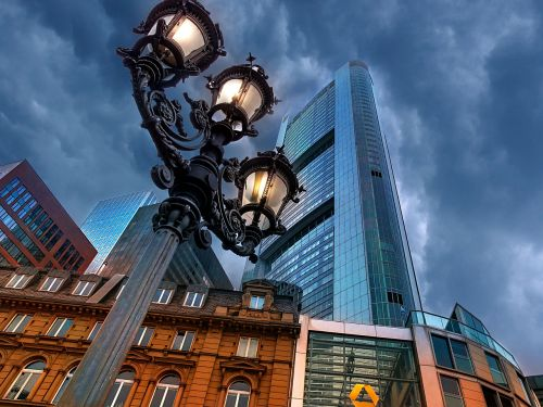 city architecture sky