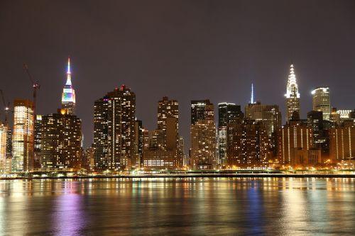city skyline architecture