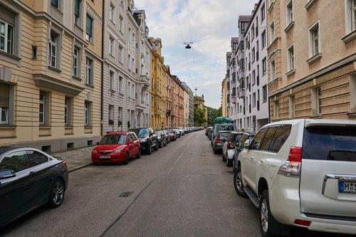 city  munich  road