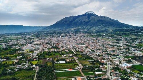 city  of atuntaqui  ecuador