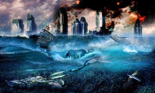 city  seas  flood