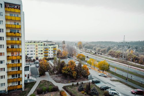 city  osiedle  building