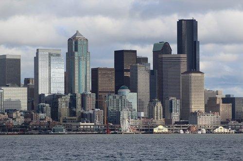 city  seattle  harbor