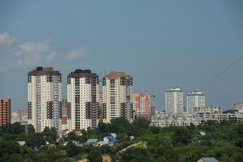 city  view  at home