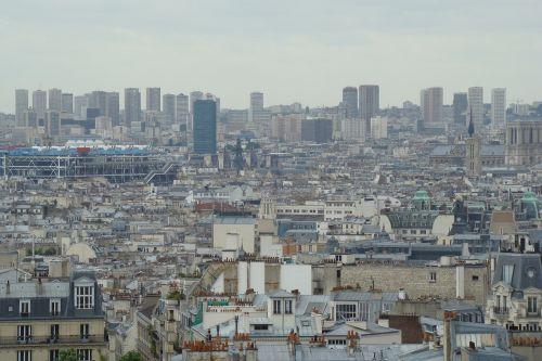 city panorama paris