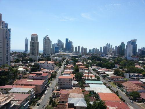 city panoramic urban