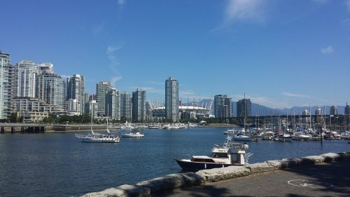city downtown vancouver