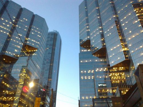 city toronto skyscrapers