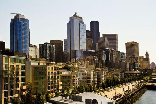 city seattle skyline