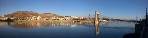 city bridge river