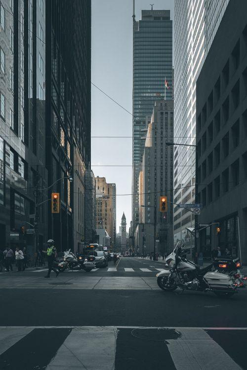 city skyline corporate