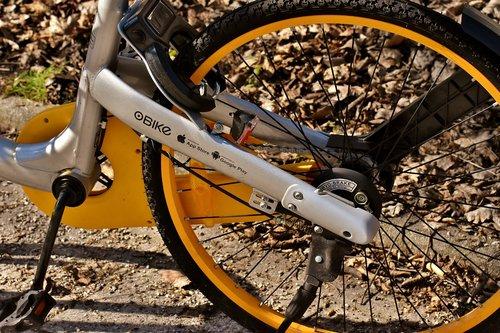 city bike  obike munich  bicycle