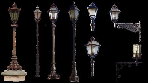 city furniture lanterns lighting