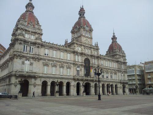 city hall spain europe
