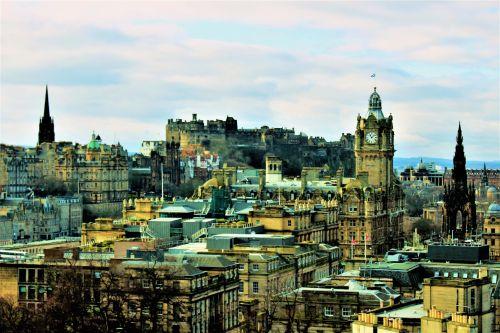 City Of Edinburgh Skyline