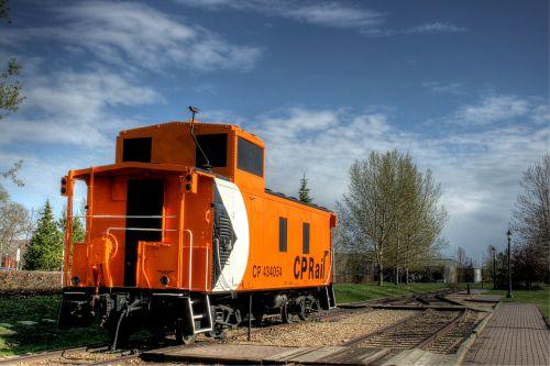 city park caboose rail car