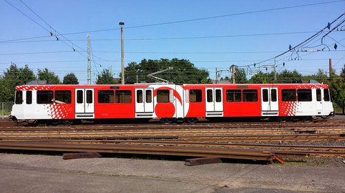 city rail cars  öpnv  the second position