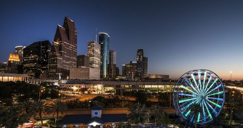 city skyline houston texas