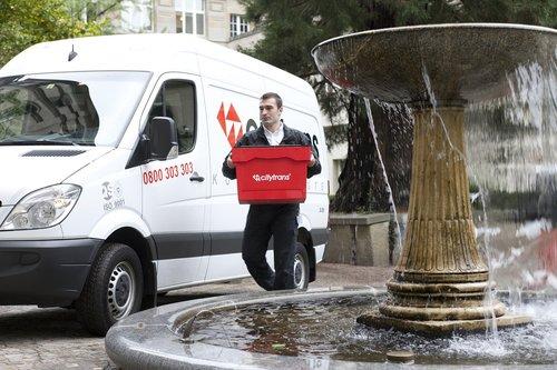 city trans  courier  courier driver