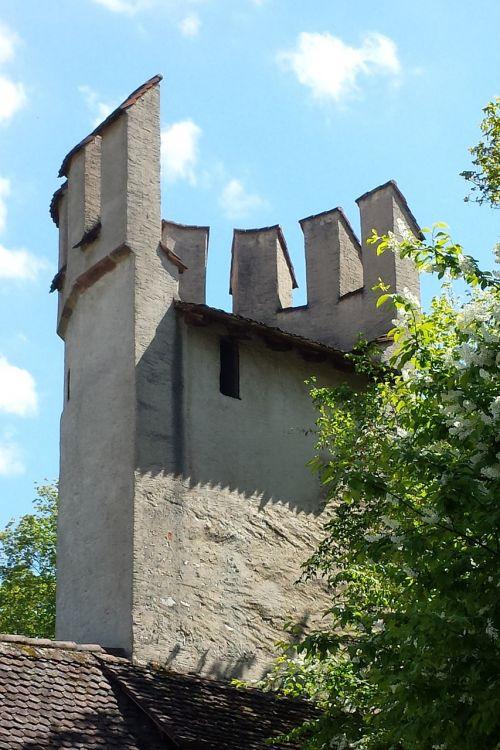 city wall tower basel