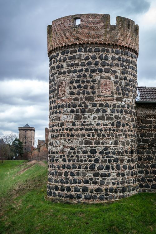 city wall tower defensive tower