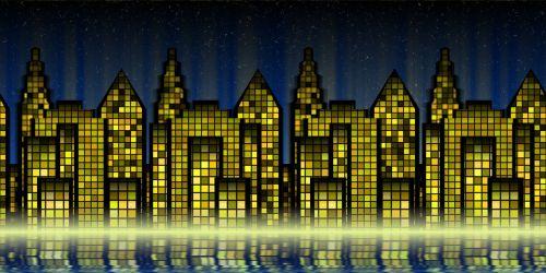 cityscape city building