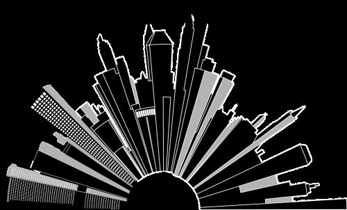cityscape buildings skyscrapers