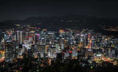 cityscape  seoul  korea