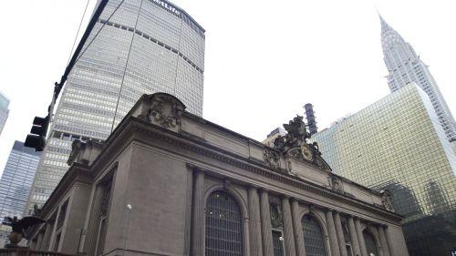 cityscape grand central landmark