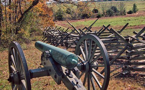 civil war cannons war