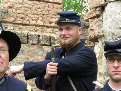 civil war soldier union