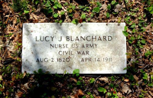 Civil War Nurse Headstone