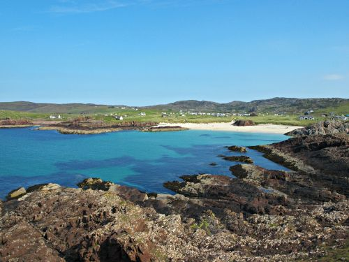 clachtoll beach lochinver west coast
