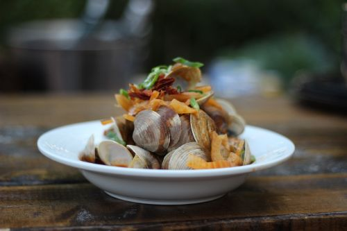 clams seafood shellfish