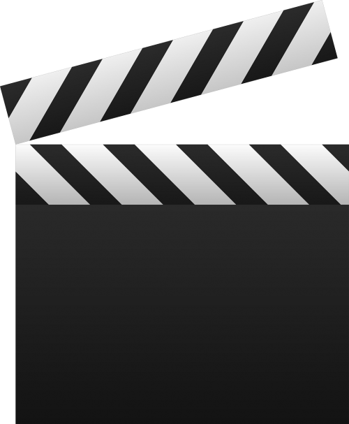 clapboard multimedia movie